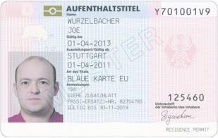 Blue Card Wirtschaft Deutschland