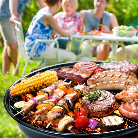 Sommeranfang, Grillvergnügen, beliebteste freizeitbeschäftigung