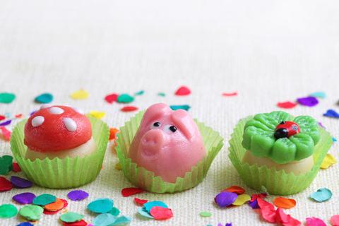 Aberglaube Glück Schwein