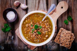German dishes Lentil Stew