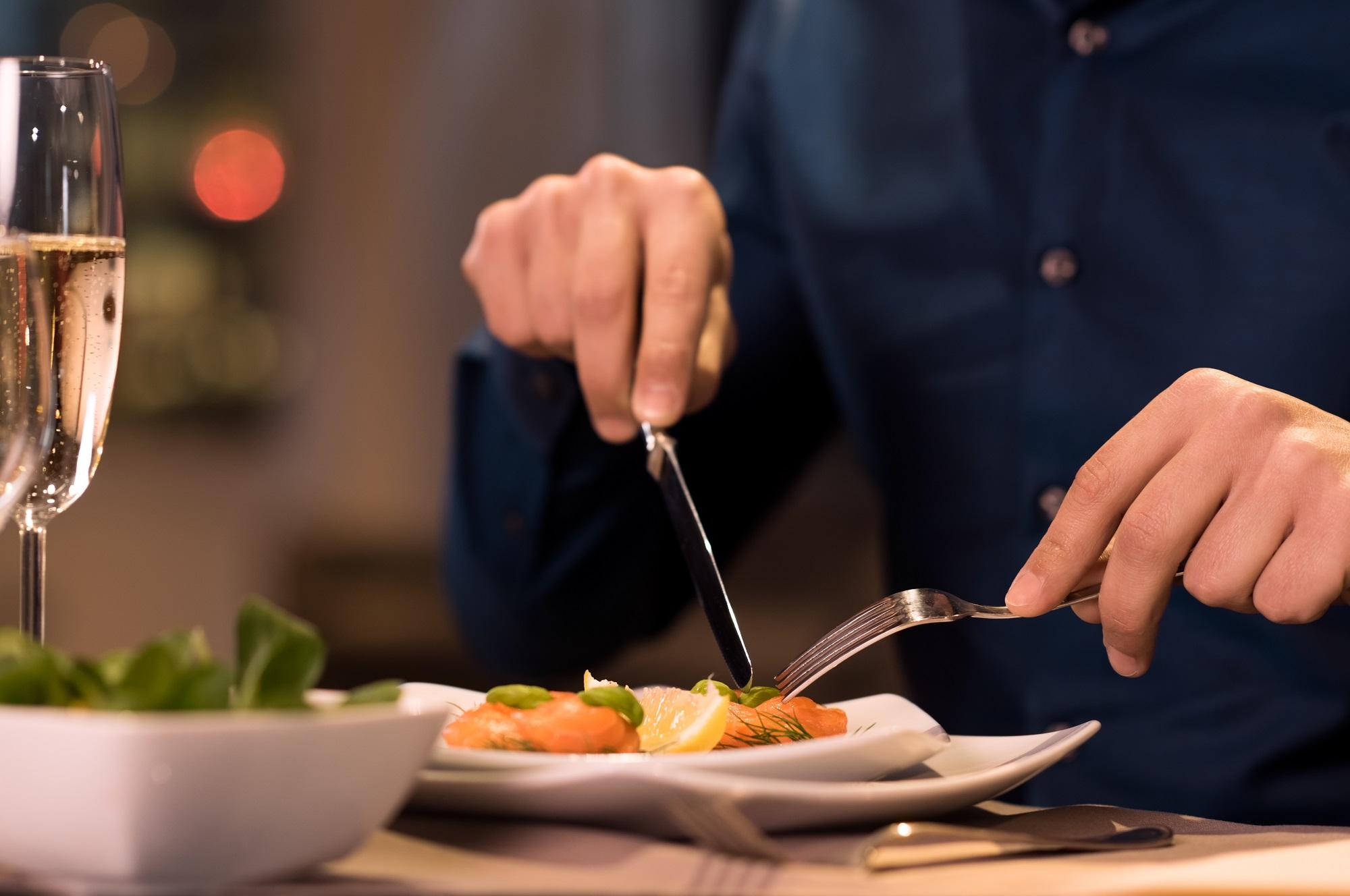 essen mit messer und gabel knigge